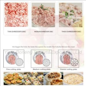 New Efficient Electric Meat Grinder 300-615 with Reverse Function pictures & photos