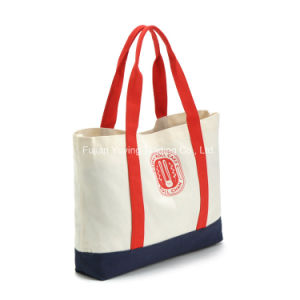 Customized Promotional Organic Tote Cotton Bag (CBG039) pictures & photos