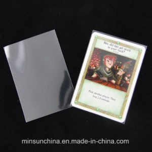 Printing Customized Sleeve for Game Card pictures & photos