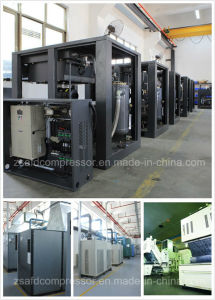 110kw/150HP High Pressure Energy Saving Two Stage Screw Air Compressor pictures & photos