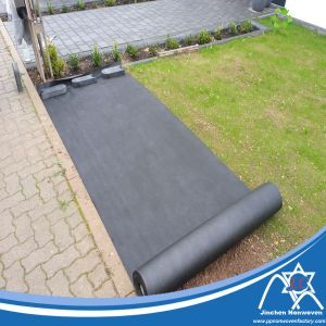 Black Polypropylene Nonwoven Fabric for Landscape Weed Mat Cover pictures & photos