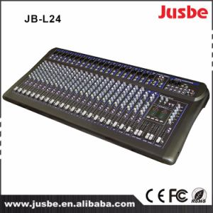 24-Channel Digital Sound System Professional Audio Mixer pictures & photos