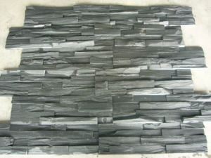 China Hot Natural Slate Stack Stone Veneer Wall Panel pictures & photos