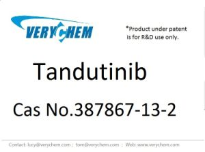 High Purity Manufacturer Pharmaceutical Tandutinib CAS 387867-13-2 pictures & photos
