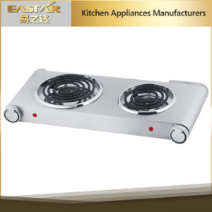 Double Cooking Plate Electric Burner (2500W) pictures & photos