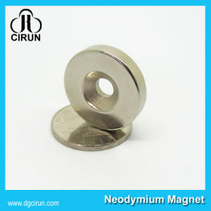 Cheap Price Permanent Small Neodymium Disc Ring Speaker Magnet pictures & photos