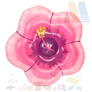PVC Blow up Inflatable Flower Pool Float pictures & photos