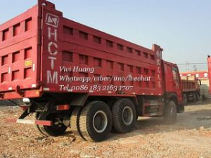 Used 375HP Sinotruk HOWO Dump Tipper Truck pictures & photos