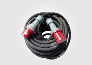 Rubber Cable with 63A Connector pictures & photos