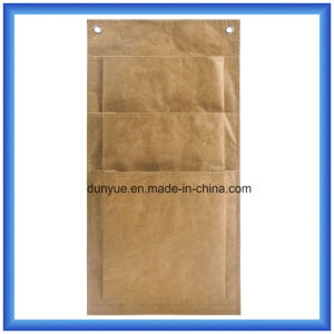Practical New Material DuPont Paper Storage Bag, Eco-Friendly Customized Tyvek Paper Hang Bag with Three Layer Pockets pictures & photos