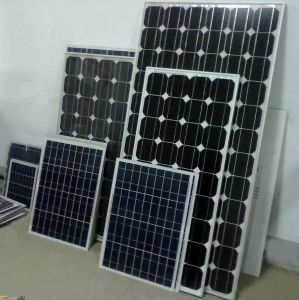 105W Monocrystalline Silicon Sunpower Solar Panel Suit for Solar Street Light pictures & photos