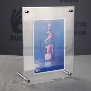 Steel Pole Acrylic Photo Frame pictures & photos