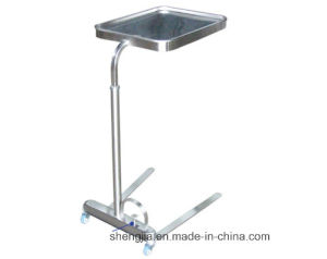 Sjt021 Tray Stand with One Post(Which Can Be Raised and Lowered