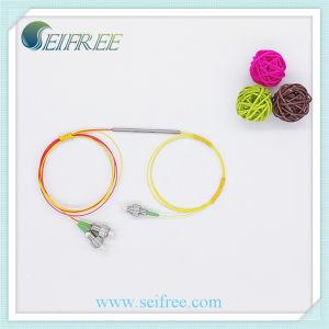 1480/1550nm 1X2 Fused Fiber Optic Wdm, Low Insertion Lose pictures & photos