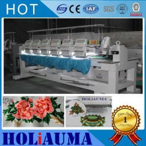 1506 Newest Industrial 6 Heads Computerized Embroidery Machine Tajima Barudan Type Cap/ T-Shirt/Garments Flat Embroidery Machine Sewing Machine pictures & photos