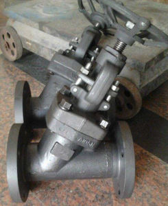 Y -Type Forged Globe Valve (QY11) pictures & photos