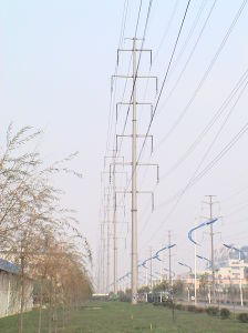Export Production Angle Steel Transmission Line pictures & photos