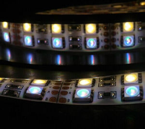 144LEDs/M 5050 Rgbww/Warm White Double Row LED Strip
