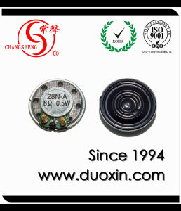 8ohm 0.25W 28mm Waterproof Mini Speaker with Inner Magnet pictures & photos