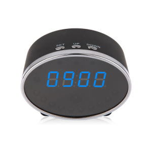 Night Vision1080p Remote Security Alarm Clock Video WiFi Camera pictures & photos