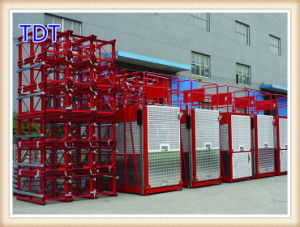 Medium Speed Frequency Conversion Single Cage Construction Elevator (SC200G) pictures & photos