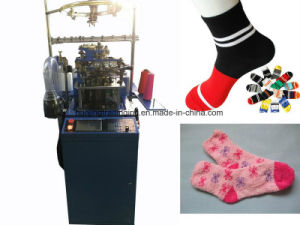Feather Yarn Socks Making Machine pictures & photos