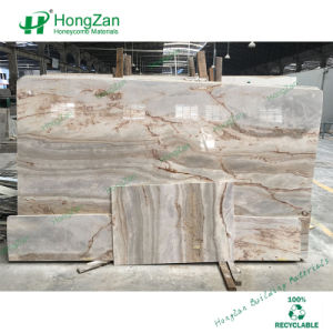 Marble Look Honeycomb Panel for Galley, Kitchen, Wash Basin pictures & photos