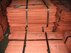 Factory Diectly Sale Copper Cathodes From Tanzania pictures & photos