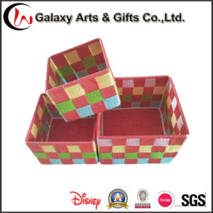 New Handicraft Basketry Weave Gift Storage Baskets pictures & photos