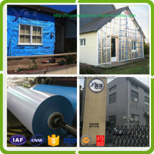 Reflective Foil Woven Fabric House Insulation House Wrap Wall Wrap pictures & photos