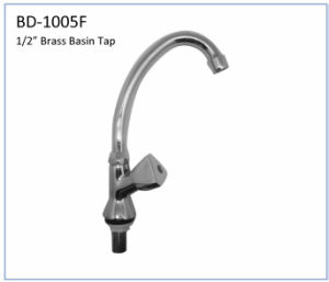Bd1006f Brass Single Knob Kitchen Tap pictures & photos