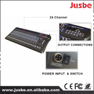 PRO Light Sound Stage System 24 Channel DJ Audio Mixer Console pictures & photos