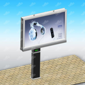 Waterproof Structure Outdoor Unique Appearance Double Scrolling Billboard pictures & photos