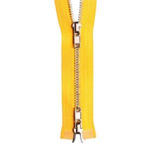 3# Nickel Brass Two Ways Open Zipper pictures & photos