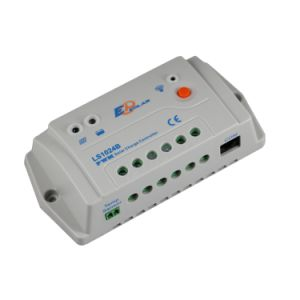10A 12V/24V Epsolar Charger/Discharger Controller Light and Timer Controller Ls1024b pictures & photos