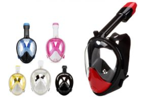 Snorkel Mask Full Face Silicone Diving Mask with Gopro Camera Mount pictures & photos