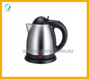 304 Stainless Steel Brushed Finish Tea Kettle for Hotel pictures & photos