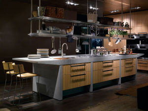 Modern Home Furniture Fiberglass Kitchen Cabinets pictures & photos