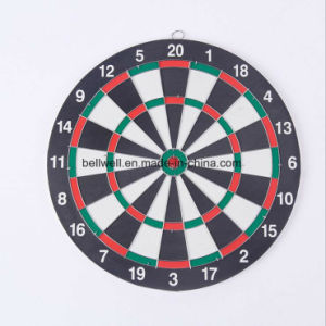 "Children′s Double Wall Darts Board Amusement Toy 12""*1.2cm pictures & photos"