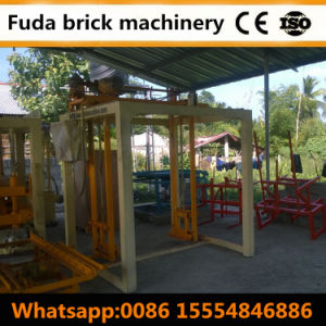 Block Machine Supplier Qt4-18 Automatic Color Paver Brick Machine Pakistan pictures & photos