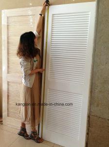 Popular Louver Bathroom Shutter Door (shutter door) pictures & photos