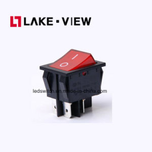 4 Feet 2 Files Large Wave Power Appliance Red Green Rocker Switch with Light pictures & photos