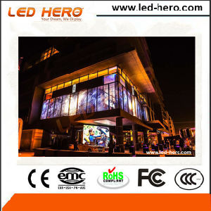 Hot Sale P5-8mm Transparent LED Display Indoor pictures & photos