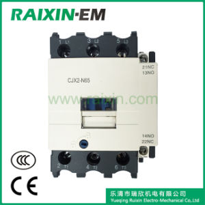Raixin New Type Cjx2-N65 AC Contactor 3p AC-3 380V 30kw pictures & photos