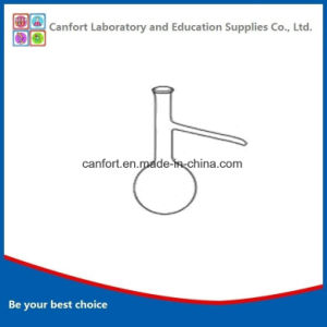Laboratory Glassware Distilling Flask, Distillation Flask with Side Tube, Boro 3.3 pictures & photos