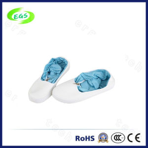 High Quality White ESD Cleanroom Boots for Hospital pictures & photos