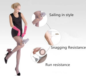 Hot Sale Elastic Arbitrary Cutting Silk Stocking Pantyhose for Women pictures & photos