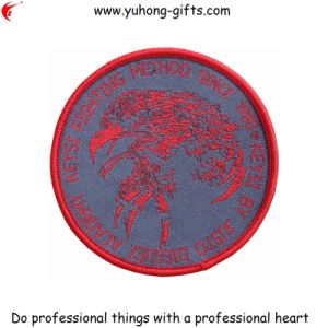 Round Shaped Embroidery Badge for Uniform (YH-EB018) pictures & photos