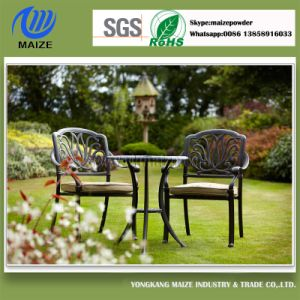 Black Wrought Iron Chair Powder Coating Paint pictures & photos