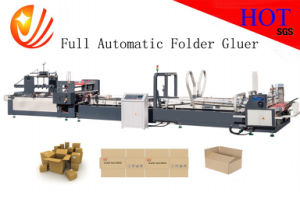 Corrugated Bear Carton Folder Gluer and Packing pictures & photos